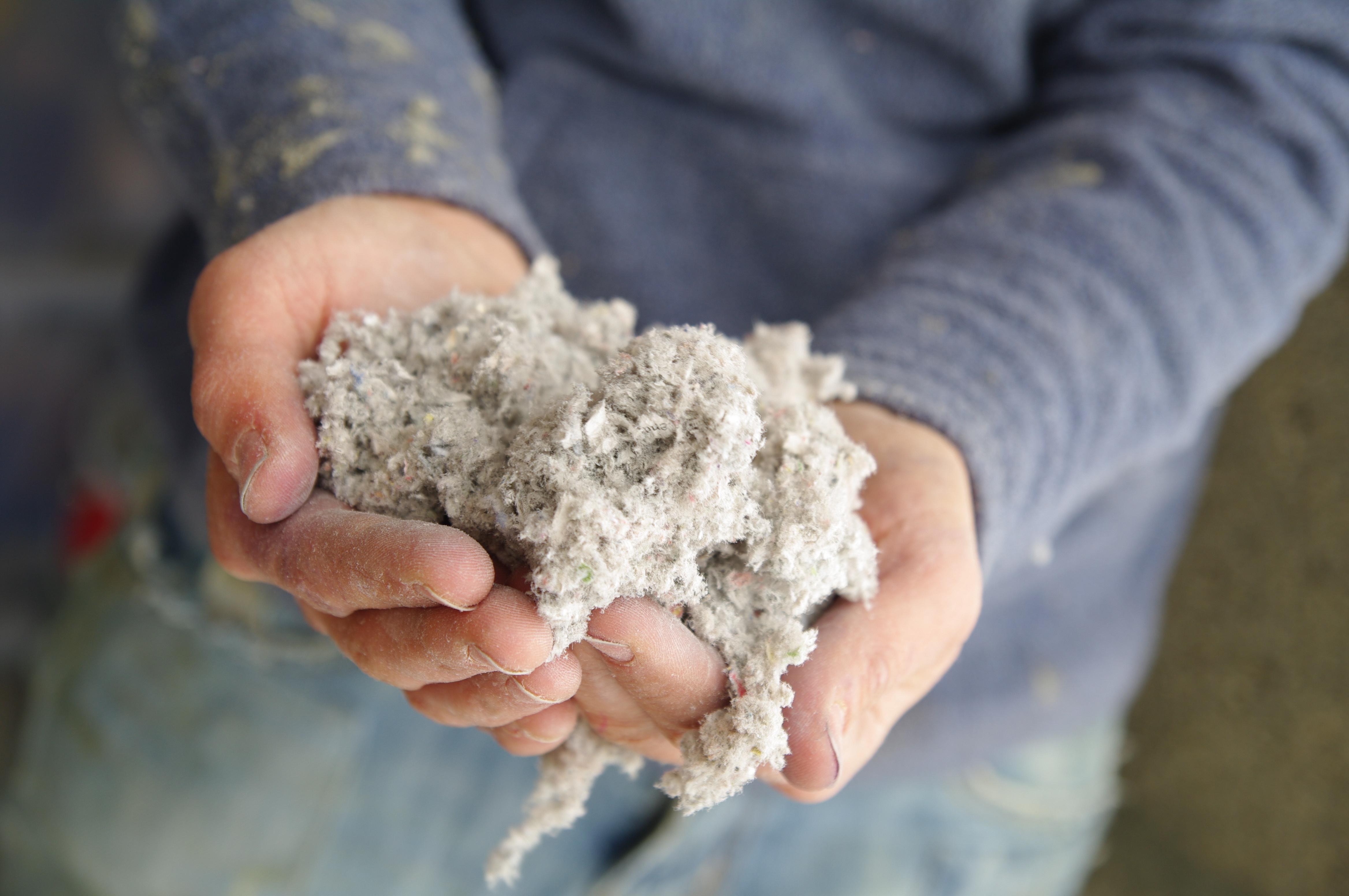 isolation écologique – ouate de cellulose